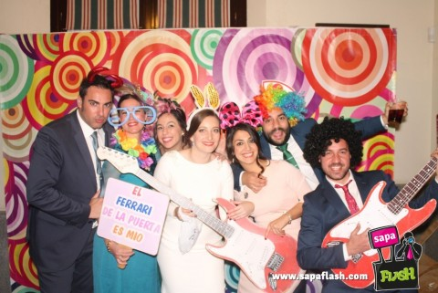photocall boda cdiz