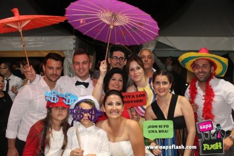 photocall boda barcelona